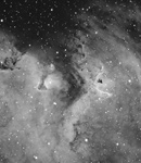 IC 1848 - der Seelennebel in Hα