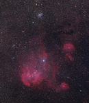 λ Cen-Nebel IC 2944 & NGC 3766