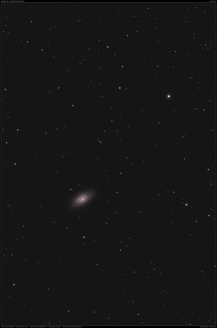 Messier 64, The Black Eye Galaxy