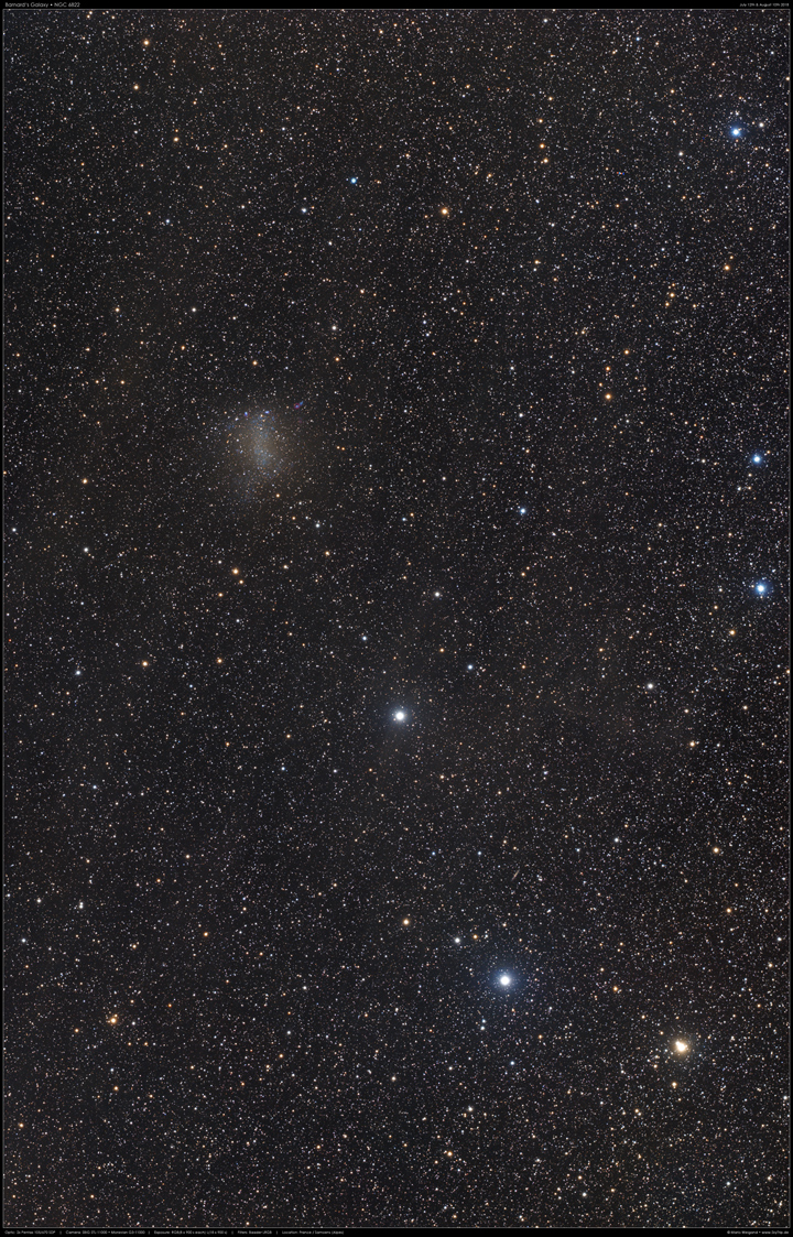 Barnards Galaxie NGC 6822