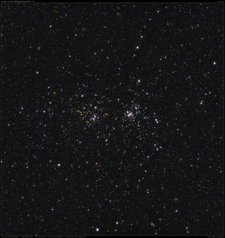 NGC 884/869 Double Cluster