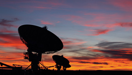 Das Very Large Array bei Socorro, New Mexico